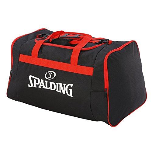 Spalding Team Sporttasche, 25 cm, Schwarz (Negro/Rojo) 300453603