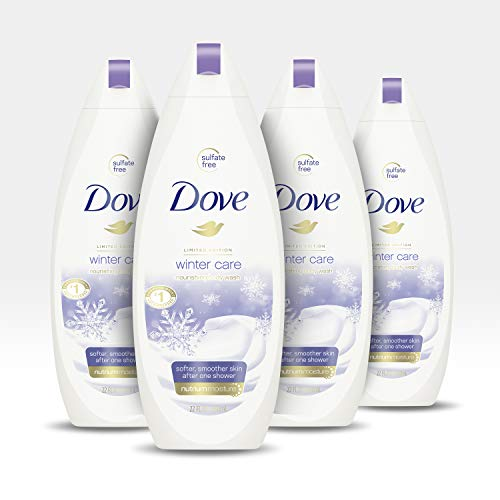Dove Body Wash To Nourish and Moisturize Dry Skin Winter Care for Softer, Smoother Skin After Just One Shower 22 oz, 4…