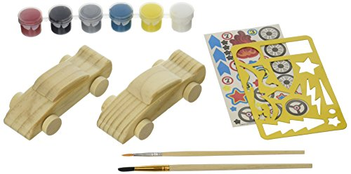 MasterPieces Works of Ahhh…Double Racers Wood Paint Kit