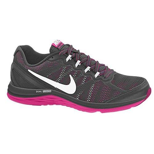 0ab7b6ba0a38b Nike Women's Dual Fusion Run 3 Anthrct/White/Hypr Pnk/Fchs Fr ...
