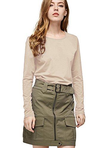 Beige Cotton Shirt - 7