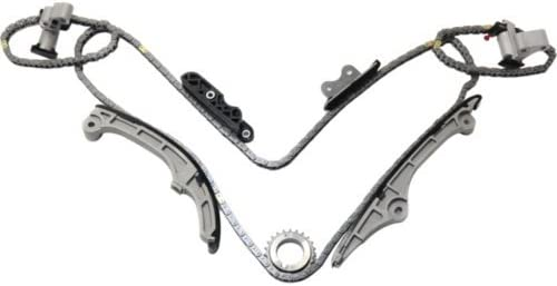 MOCA Timing Chain Kit for 2007-2012 Ford Taurus Edge /& Mazda CX9 Mercury /& Lincoln MKZ MKX 3.5L 3.7L V6 DOHC 24V Duratec Engine