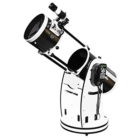 SkyWatcher S11810 GoTo Collapsible Dobsonian 10-Inch (White) (Celestron Computerized Newtonian)