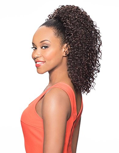 DS013 Ponytail Color 4 Med Dark Brown - Foxy Silver Wigs 16