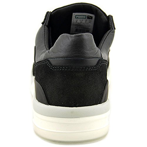 Puma Heren Mcq Move Lo Lace-up Enkellange Lederen Fashion Sneaker Zwart / Puma Zwart / Puma Wit