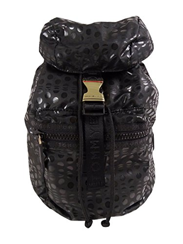 Tommy Hilfiger Women's Black Training Plus Solid Nylon Small Backpack by Tommy Hilfiger