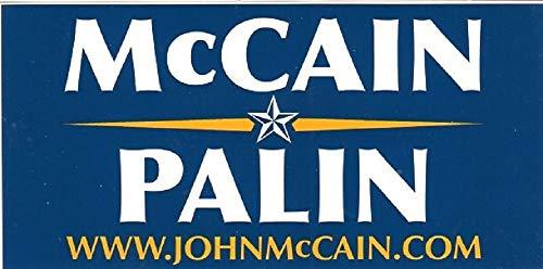 (Original John McCain Campaign Bumper Sticker)