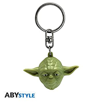 ABYstyle - STAR WARS - Llavero 3D - Yoda: Amazon.es ...