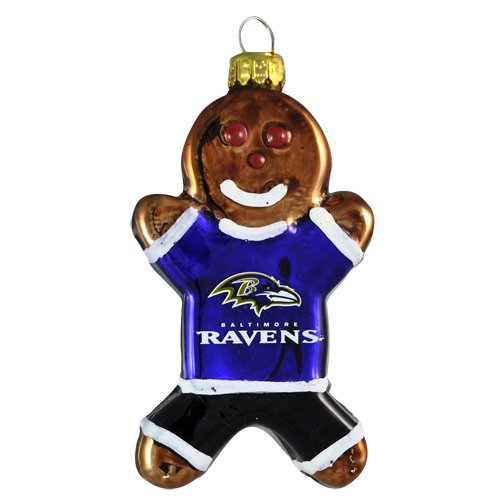 NFLRavens Gingerbread Ornament