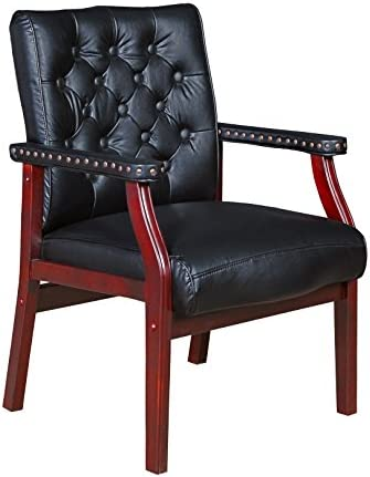 Regency Ivy League Guest Chair, Black