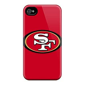 Great Hard Phone Cover For Iphone 5s (rCq2195sTZoB) Allow Personal Design Attractive San Francisco 49ers 1 Image
