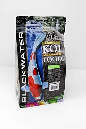 Koi Growth Pellets - Blackwater Premium Koi and Goldfish Food Max Growth 2 lb, Medium Pellet