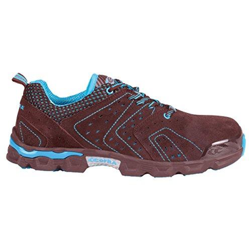 """Cofra je027–000.w41S1P SRC Taglia 41""""Diving sicurezza scarpe, colore: marrone"""