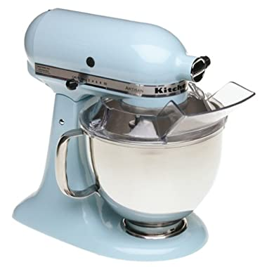 KitchenAid KSM150PSGB Artisan Series 5-Quart Mixer, Glacier Blue