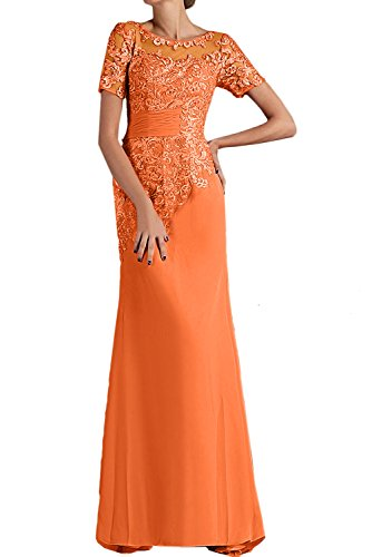 TOSKANA BRAUT - Vestido - para mujer naranja