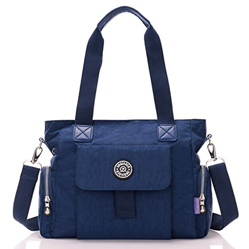 à Lady Nylon imperméable Grande Crossbody Sac fourre Toile Feng capacité en bandoulière Toile Bags 3 Guo Tout 45wvqgnx