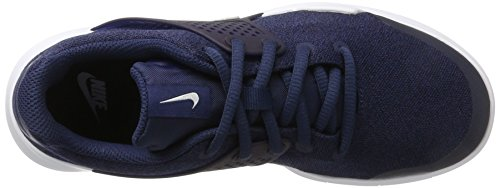 Nike Arrowz GS, Zapatillas de Gimnasia Para Niñas Azul (Midnight Navy/white/black)