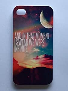 LYYF New Fashion Cool High Quality Color of AND IN THAT MOMENT I SWERAR WE WERE INFINITE Hard Case/cover for Iphone 4/4s