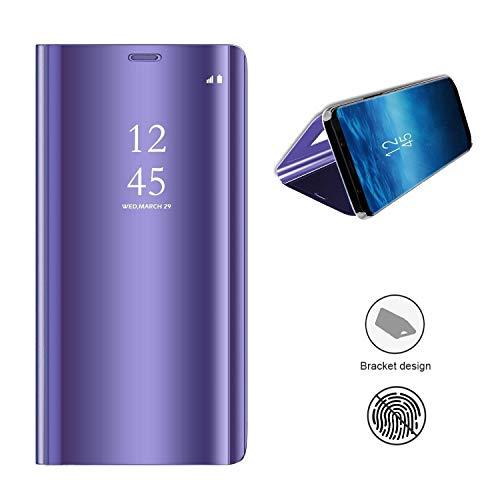 Kisco Für Samsung Galaxy A9 2018a9s Spiegel Hüllespiegel Handyhülle Spiegel Schutzhülle Protective Flip Schutzhülle Cover Für Samsung Galaxy