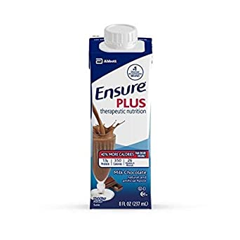 5264911 Ensure Plus Milk Chocolate 8oz 24 Per Case by Abbott