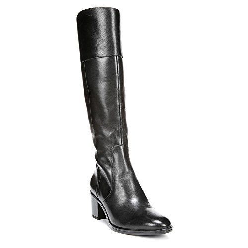Riding Calf Boot Leather Harbor Wide Black Naturalizer Women's qwBfgg
