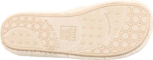 New Ivory Thong Spa Acorn Slipper Women's H5w5qR
