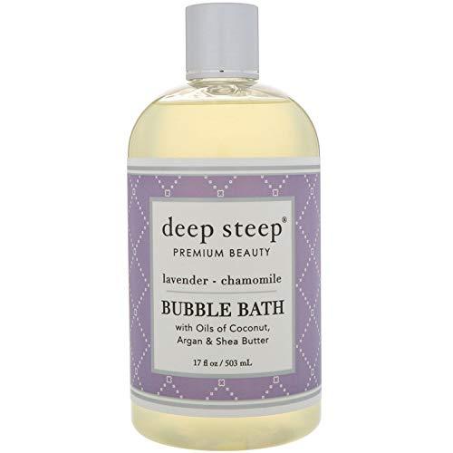 Deep Steep Bubble Bath, Lavender Chamomile, 17 Ounces (Bubble Bath Relaxing)