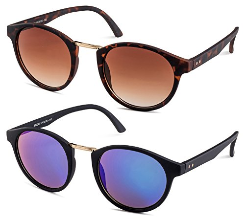 Havana Frame/Brown Gradient Lens and Black Frame/Green Flash Mirror Lens - Most Womens Bans Ray Popular