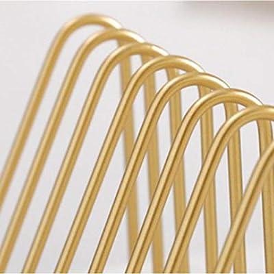 Baoblaze 2er-Set Metall Buchst/ütze Buchst/ützen Buchst/änder Aufsteller Stehhilfen Gold