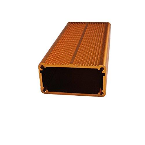 Eightwood Aluminum Project Enclosure Electronic DIY Box - 4.32'' x 1.89'' x 0.98''(LengthWidthHeight)