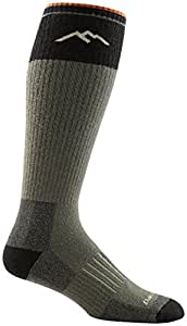 Darn Tough Over the Calf Extra Cushion Socks - Men's Forest Small