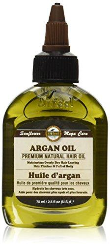 Difeel Sunflower Mega Care Argan Oil, 2.5 Ounce