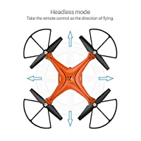 SUKEQ X10 2.4Ghz 6 Axis Gyro 0.3MP HD Camera WIFI FPV Headless Mode Altitude Hold RC Drone from SUKEq
