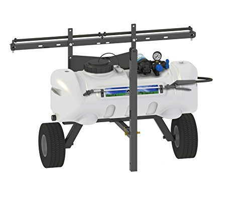 - Master Manufacturing SNO-11-015A-MM 15 Gallon Trailer Broadcast & Spot Sprayer-Everflo 2.2GPM, 7 Foot Coverage