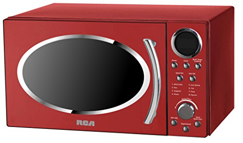 RCA RMW987-RED 0.9 cu. ft. Retro Microwave, Red (Retro Red Microwave compare prices)