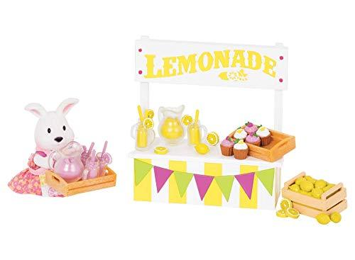 Lemonade Stand Lil Woodzeez Animal Figurine Playset and Accessories 26 Pieces Branford Limited