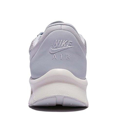 Nike Womens W Air Max Jewell Prm, Platino Mtlc / Platino Puro, 9 M Us