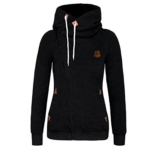 Zipper Hooded Sweatshirt Jacket - 8