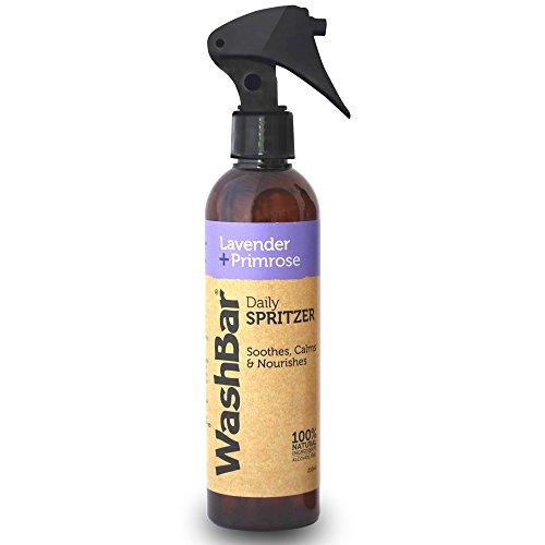 100% Natural Lavender & Primrose Spritzer - Dog Smell Eliminator Spray By WashBar, Made in New Zealand (8.45 oz) Pet Odor Neutralizer & Remover, Smell Deodorizer ()