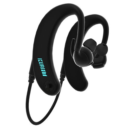 KuaiFit Sport Headphones - Heart Rate, Accelerometer, MP3, 8GB Memory, BLE, ANT+, Sweatproof, Audio Coach - Run Cycle Gym Triathlon by KuaiFit