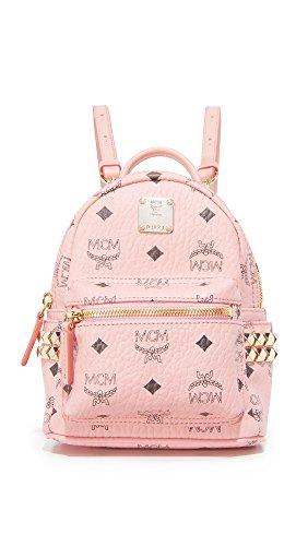 MCM Women's Stark X Mini Backpack Soft Pink One Size
