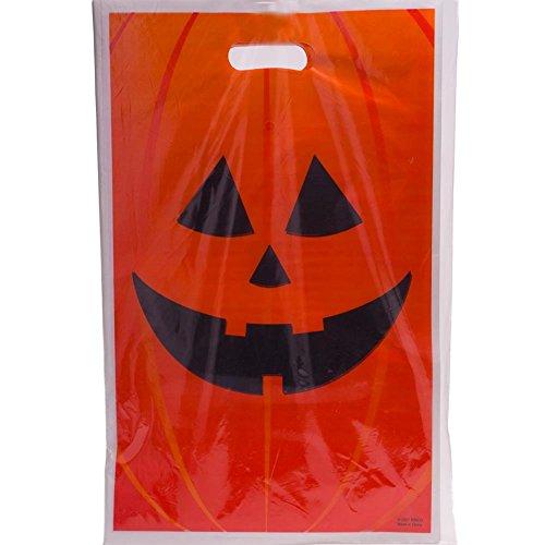 Jack-O-Lantern Trick Or Treat Bags