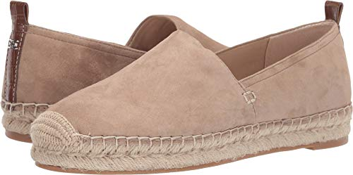 Sam Edelman Women's Khloe Warm Taupe Kid Suede Leather 6.5 W - Taupe Kid Leather