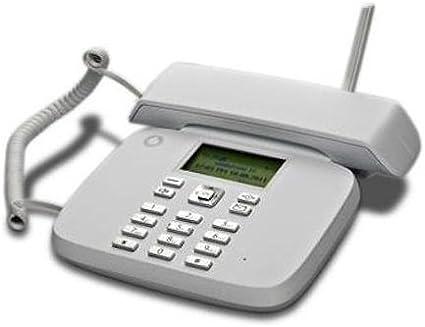 Teléfono fijo Vodafone - Funciona con tarjeta SIM, sin necesidad de tener línea en casa: Amazon.es: Electrónica