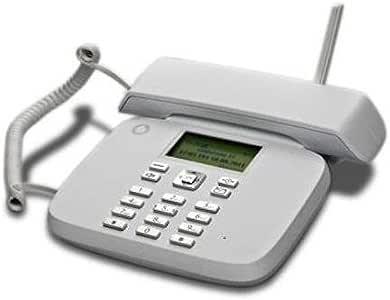 Teléfono fijo Vodafone - Funciona con tarjeta SIM, sin