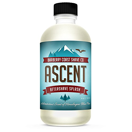 (Himalayan Ascent Aftershave Splash for Men - Scent: Blue Pine, Sandalwood, Cedar, Mandarin & Amber -)