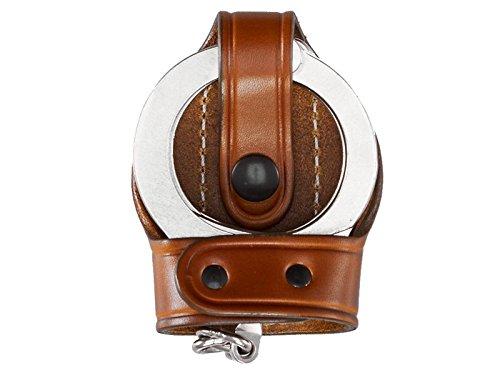 Aker Leather 503 Bikini Handcuff Case, Tan, Plain, Fits Most Standard Chain Handcuffs