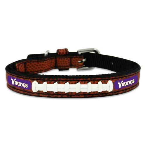 Minnesota Vikings Leather (NFL Minnesota Vikings Classic Leather Football Collar, Toy)