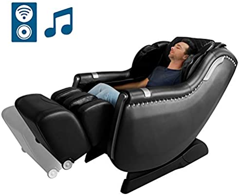 KTN Massage Chair, Zero Gravity Massage Chair, SL 3D Full Body Massage Chairs and Recliner with Space Saving, Yoga Stretching, Bluetooth Speaker,