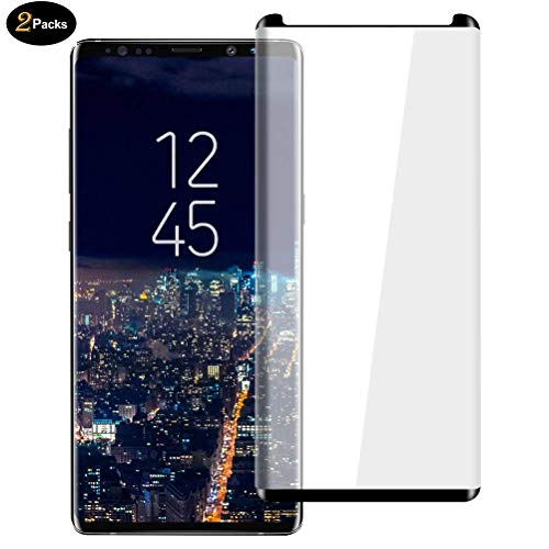 2 Pack HD Galaxy Note 8 Screen Protector,SIHIVIVE Tempered Glass for Galaxy...